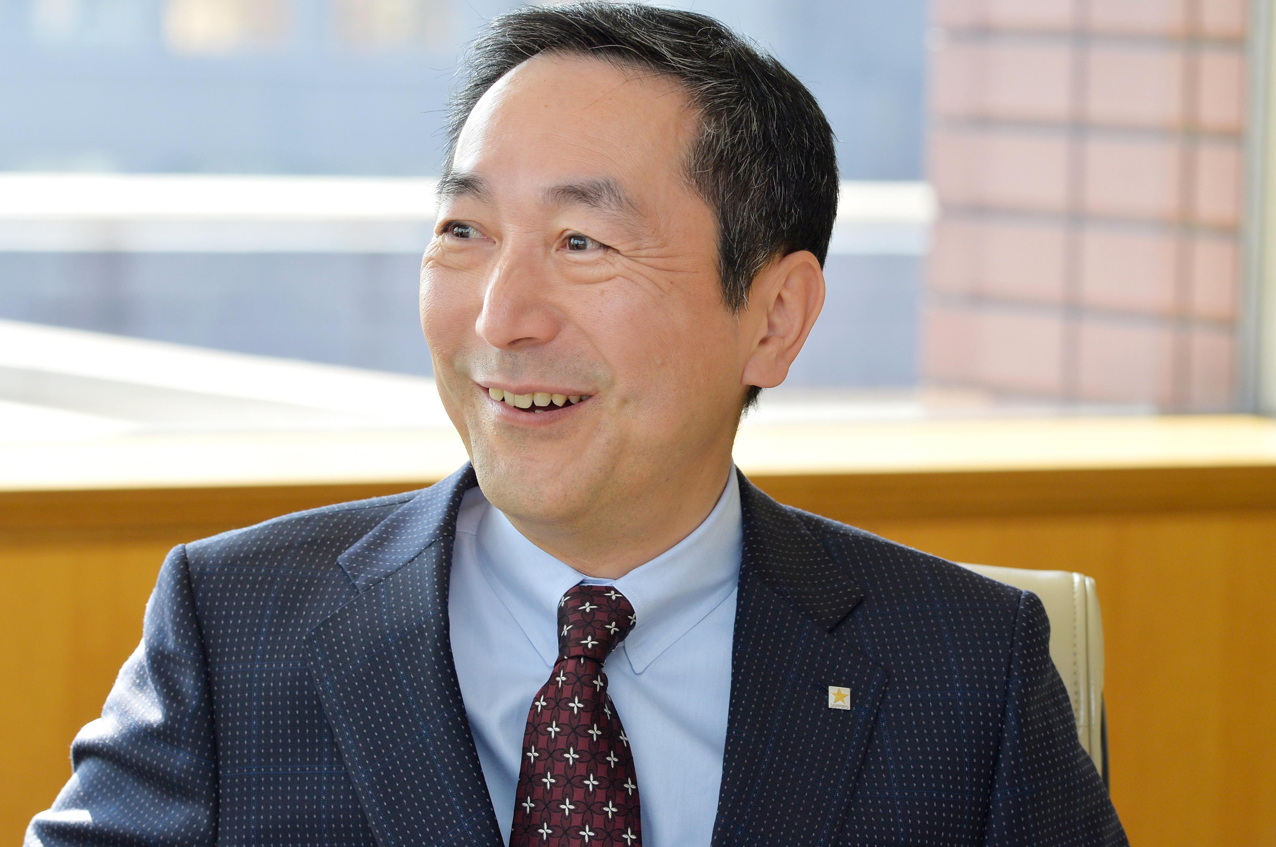 尾賀社長は「日々の中で新しい何かを見出すことが大切」と話す。