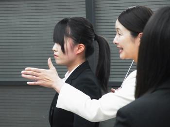 竹内先生によるマナー講座